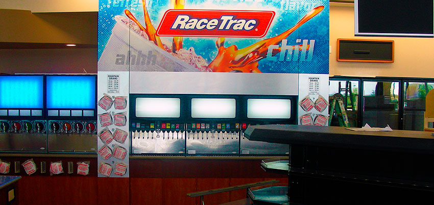 race trac gas station electrical job