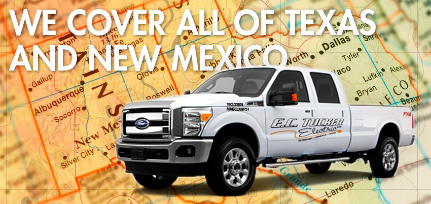 we service texas and new mexico